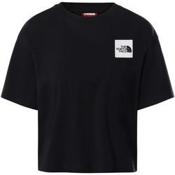 Ruhák Női Rövid ujjú pólók The North Face NF0A4SY9 Fekete