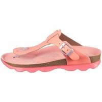 Cipők Gyerek Lábujjközös papucsok Superfit Earth Rózsaszín