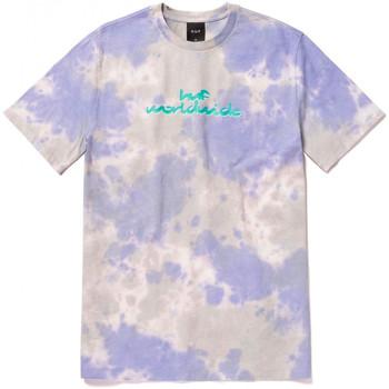 Ruhák Férfi Rövid ujjú pólók Huf T-shirt chemistry ss Lila