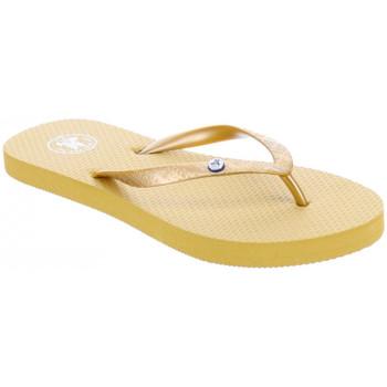 Cipők Női Lábujjközös papucsok JOTT Slim tong femme Arany