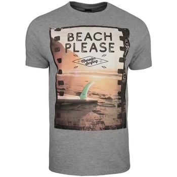 Ruhák Férfi Rövid ujjú pólók Monotox Beach Szürke
