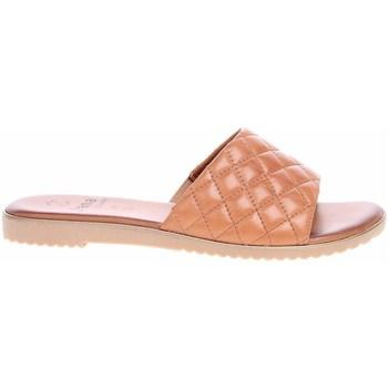 Cipők Női Papucsok Jana 882710626305 Bézs