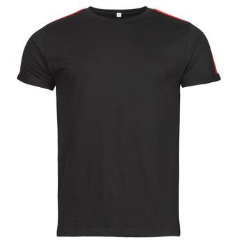 Ruhák Férfi Rövid ujjú pólók Yurban  Fekete