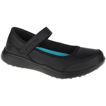 Cipők Lány Balerina cipők  Skechers Microstrides Class Spirit Fekete