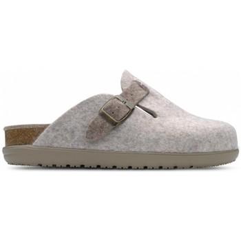 Cipők Női Mamuszok Feliz Caminar Zueco de Hogar DOMUS Barna