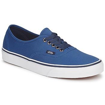 Cipők Rövid szárú edzőcipők Vans AUTHENTIC Kék / Sötét