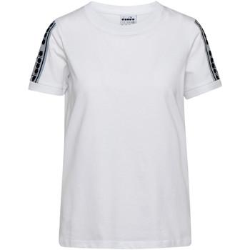 Ruhák Női Rövid ujjú pólók Diadora 502175812 Fehér