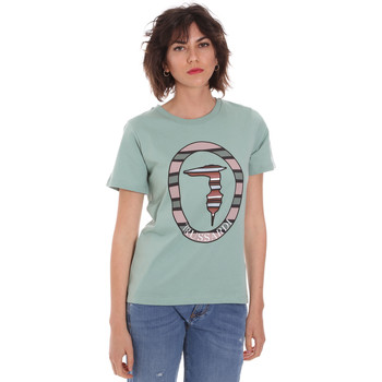 Ruhák Női Rövid ujjú pólók Trussardi 56T00371-1T005228 Zöld