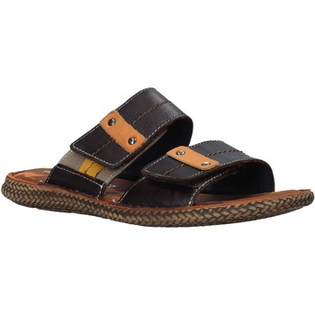 Cipők Férfi Papucsok Valleverde 20825 Barna