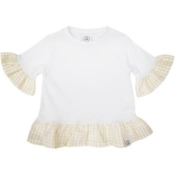 Ruhák Lány Rövid ujjú pólók Naturino 6001011 01 Fehér