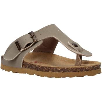 Cipők Gyerek Lábujjközös papucsok Bionatura 22B 1010 Szürke