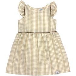 Ruhák Lány Rövid ruhák Naturino 6001014 01 Bézs