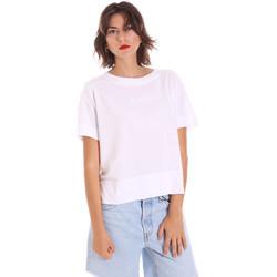Ruhák Női Rövid ujjú pólók Invicta 4451248/D Fehér