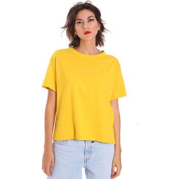 Ruhák Női Rövid ujjú pólók Invicta 4451248/D Sárga