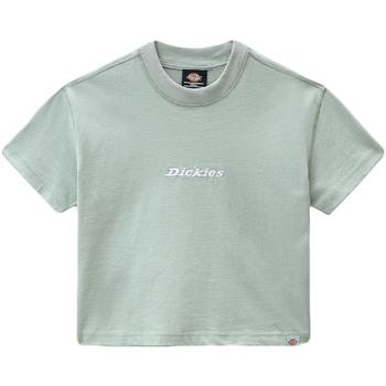 Ruhák Női Rövid ujjú pólók Dickies DK0A4XBAB871 Zöld