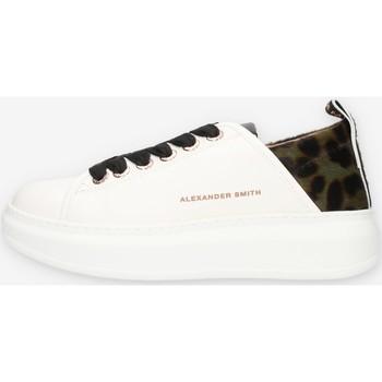 Cipők Női Rövid szárú edzőcipők Alexander Smith E113211 Zöld
