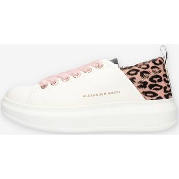 Cipők Női Rövid szárú edzőcipők Alexander Smith E113211 Rózsaszín
