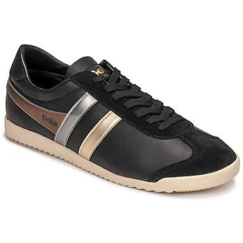 Cipők Női Rövid szárú edzőcipők Gola BULLET TRIDENT Fekete  / Arany
