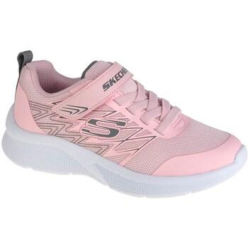 Cipők Lány Rövid szárú edzőcipők Skechers Microspecbold Delight Rózsaszín