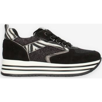 Cipők Lány Rövid szárú edzőcipők NeroGiardini I031670F Black