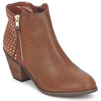 Shoes Női Bokacsizmák Blink MARA Teve
