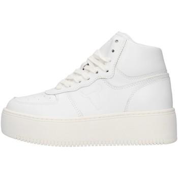 Cipők Női Magas szárú edzőcipők Windsor Smith WSPTHRIVE WHITE