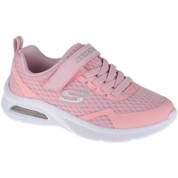 Cipők Gyerek Rövid szárú edzőcipők Skechers Microspec Max Rózsaszín