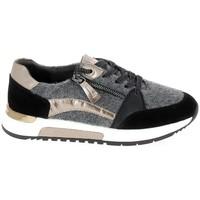 Cipők Rövid szárú edzőcipők Jana Sneaker 23710 Noir Fekete
