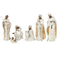 Otthon Karácsonyi dekorációk Signes Grimalt Születés 6 Darab Set 6U Blanco