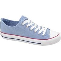 Cipők Női Rövid szárú edzőcipők Lee Cooper LCWL2031034 Kék