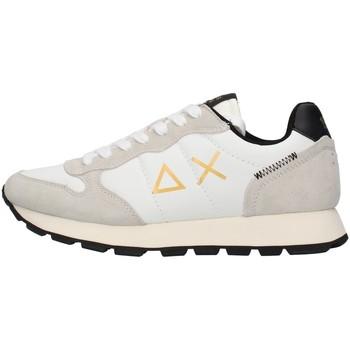 Cipők Férfi Rövid szárú edzőcipők Sun68 Z41104 WHITE