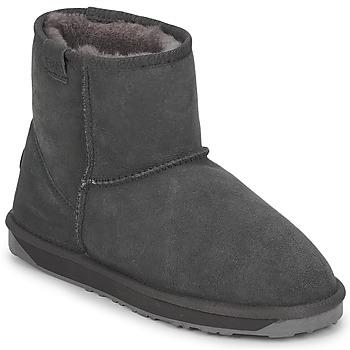 Cipők Női Csizmák EMU STINGER MINI Szürke