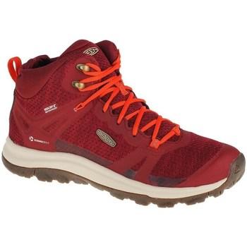 Cipők Női Magas szárú edzőcipők Keen Terradora II WP Piros