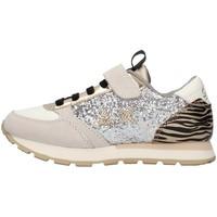 Cipők Lány Rövid szárú edzőcipők Sun68 Z41411 SILVER