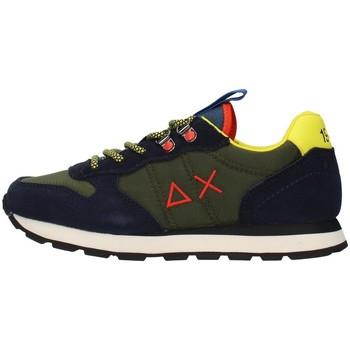 Cipők Fiú Rövid szárú edzőcipők Sun68 Z41308 GREEN