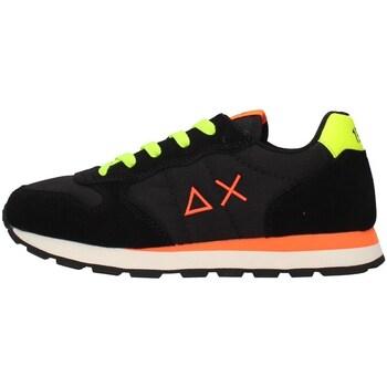Cipők Fiú Rövid szárú edzőcipők Sun68 Z41302 BLACK