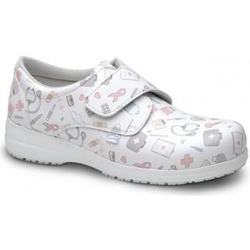 Cipők Mokkaszínek Feliz Caminar ZAPATO SANITARIO UNISEX ATOM Fehér