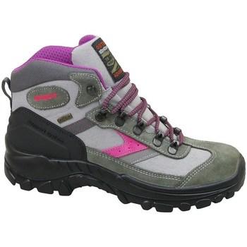 Cipők Női Magas szárú edzőcipők Grisport Grigio Scamosciato Zöld