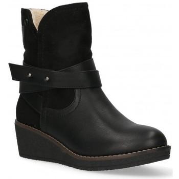 Cipők Női Bokacsizmák Etika 55086 Fekete
