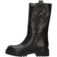 Cipők Női Bokacsizmák Vsl 7185/INN BLACK