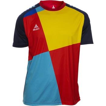 Ruhák Fiú Rövid ujjú pólók Select T-shirt enfant  Player Pop Art bleu/jaune/rouge