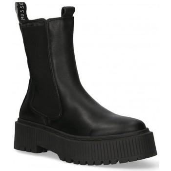 Cipők Női Bokacsizmák Luna Collection 58553 Fekete