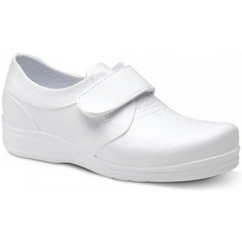 Cipők Férfi Rövid szárú edzőcipők Feliz Caminar ZAPATO SANITARIO VELCRO UNISEX FLOTANTES VELCRO Fehér