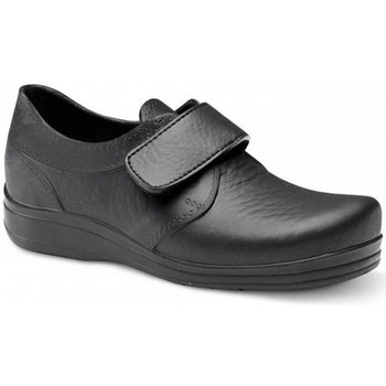 Cipők Férfi Rövid szárú edzőcipők Feliz Caminar ZAPATO SANITARIO VELCRO UNISEX FLOTANTES VELCRO Fekete