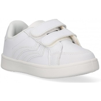 Cipők Fiú Rövid szárú edzőcipők Luna Collection 59593 Fehér