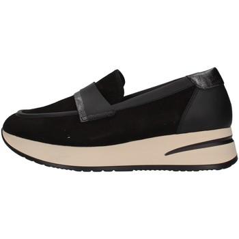 Cipők Női Mokkaszínek Melluso R25057 BLACK