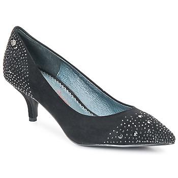Shoes Női Félcipők Couleur Pourpre FADILE Fekete