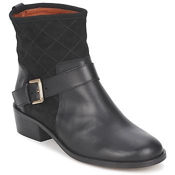 Cipők Női Csizmák Emma Go LAWRENCE Fekete