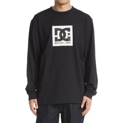 Ruhák Férfi Melegítő kabátok DC Shoes Square Star Fekete