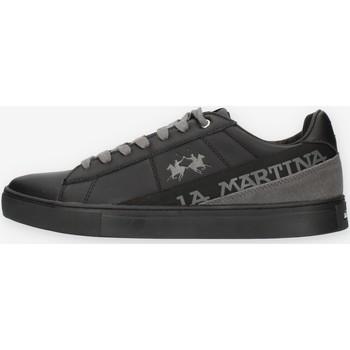 Cipők Férfi Rövid szárú edzőcipők La Martina LFM212001 Black